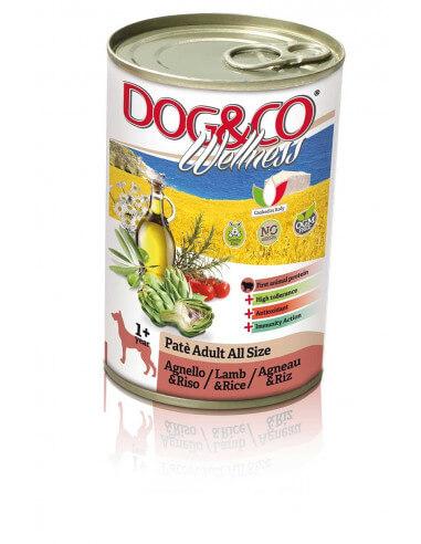 Dog&Co WELLNESS ADULT TOUTES TAILLES AGNEAU ET RIZ
