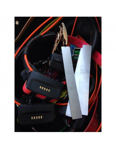 Tige / Plaque de renfort pour collier Garmin T5 TT10 TT15 DC50