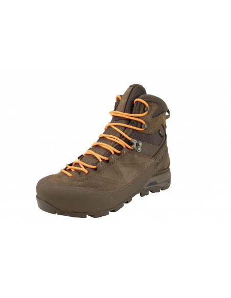 CHAUSSURES SALOMON X ALP MTN GTX FORCES - LACET ORANGE - COYOTE