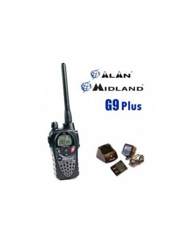 Midland G9 PLUS version export 5W et son oreillette